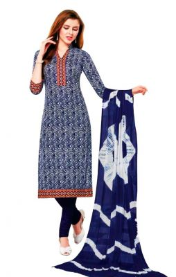 Buy Padmini Unstitched Printed Cotton Dress Material (product Code - Dtsjsuhana5008) online