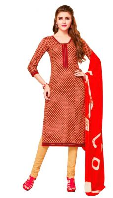 Buy Padmini Unstitched Printed Cotton Dress Material (product Code - Dtsjsuhana5012) online