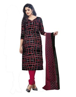 Buy Padmini Unstitched Printed Cotton Dress Material (product Code - Dtmcm5014) online