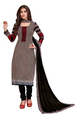 Buy Padmini Unstitched Printed Cotton Dress Material (product Code - Dtkakashish2508) online