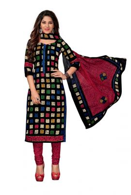 Buy Padmini Unstitched Printed Cotton Dress Material (code - Dtkapreyanshi5183) online