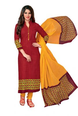 Buy Padmini Unstitched Printed Cotton Dress Material (code - Dtkasmit5501) online