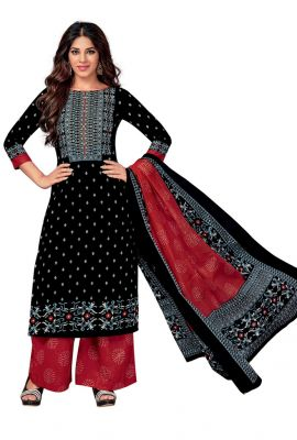 Buy Padmini Unstitched Printed Cotton Dress Material (code - Dtkasmit5508) online