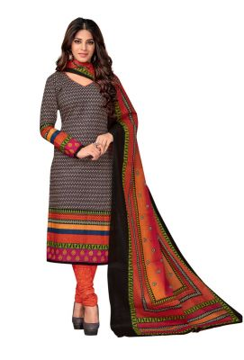Buy Padmini Unstitched Printed Cotton Dress Material (code - Dtkasmit5515) online