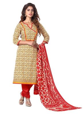 Buy Padmini Unstitched Printed Cotton Dress Materials Fabrics (product Code - Dthfdeepkala105) online