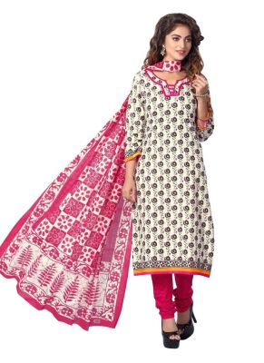 Buy Padmini Unstitched Printed Cotton Dress Materials Fabrics (product Code - Dthfdeepkala106) online