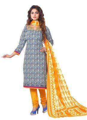 Buy Padmini Unstitched Printed Cotton Dress Materials Fabrics (product Code - Dthfdeepkala108) online