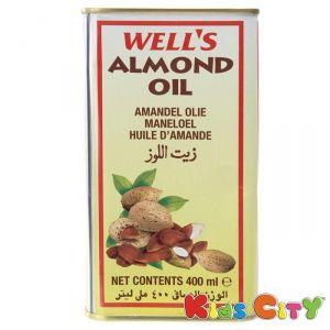 Buy Wells Almond Oil - 400ml (pack Of 2) online