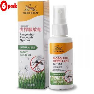 Buy Tiger Balm Mosquito Repellent Spray - 60ml (pack Of 6) online