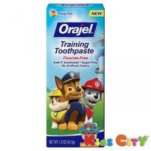 Buy Orajel Training Toothpaste 42.5g - Paw Patrol online