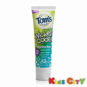 Buy Tom's Natural Wicked Cool Fluoride Toothpaste (8y+) - 119g (4.2oz) Mild Mint online