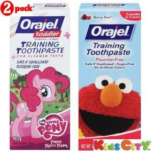 Buy Orajel Training Toothpaste Combo (pack Of 2) - My Little Pony + Sesame Street online