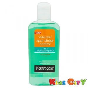 Buy Neutrogena Visibly Clear Spot Stress Control 3-in-1 Daily Cleansing Lotion - 200ml online