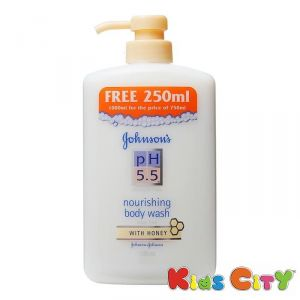 Buy Johnsons Ph 5.5 Nourishing Bodywash With Honey - 1000ml online
