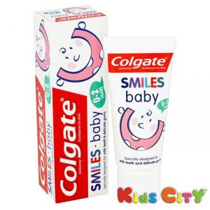 Buy Colgate Smiles Baby Toothpaste (0-2y) - 50ml online