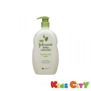Buy Johnsons Baby Naturals Head-to-toe Wash - 532ml (18oz) (us) online