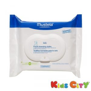 Buy Mustela Facial Cleansing Cloths - 25pk online