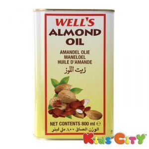 Buy Wells Almond Oil - 800ml online