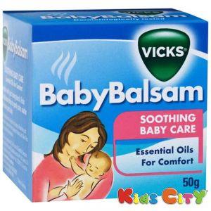 Buy Vicks Baby Balsam (3m+) - 50g online