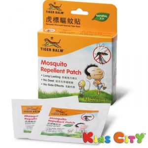 Buy Tiger Balm Mosquito Repellent Patch - 10pc online
