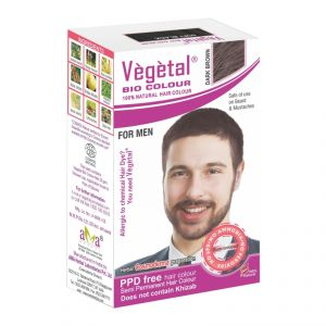 Buy Vegetal Bio Colour-dark Brown - 25gm online
