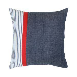 Buy Blueberry Home Black Color Cotton Fabric Cushion Covers Set Of 02 (40x40 Cms) online
