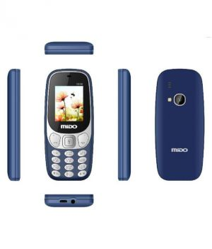Buy Mido 1616 Dual Sim Multimedia Phone With 1000 mAh Battery, Auto call Recorder Bluetooth And FM Radio online
