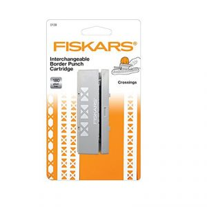 Buy Fiskars Interchangeable Cartridge Border Punch Die- Crossings online