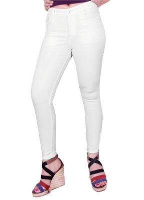 d048ec32cf2 Buy Fck-3 White High Waist Ankle Fit Jeans For Women Online