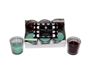 Buy Cucumber Cantaloupe-chocoholic Dual-scent Votive Candle (pack Of 6) online