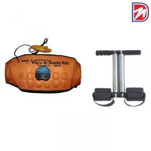 Buy Czar 3 In 1 Sauna Belt With Tummy Trimmer Double Spring online