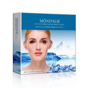 Buy Mondsub Hyaluronic Acid Instant Cool Moisturizing & Brightening Facial Mask (pack Of 4) online