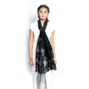 Buy Grishti Women's Black Scarf Gg13ablack-black online