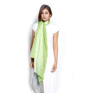 Buy Grishti Women'S Ombre Green Scarf online