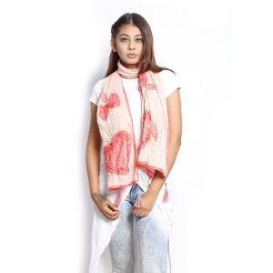 Buy Grishti Women'S Coral Stole online