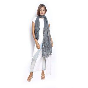 Buy Grishti Women'S Grey Scarf online