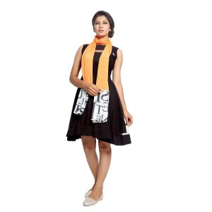 Buy Grishti Women'S Orange Scarf online