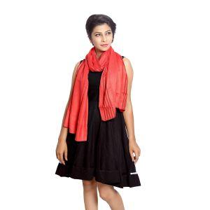 Buy Grishti Women's Red Scarf Vedic-red online