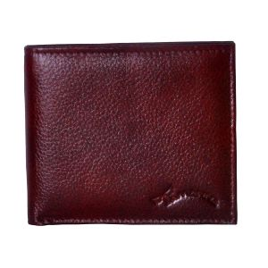 Buy Tamanna Men Brown Genuine Leather Wallet (3 Card Slots) online