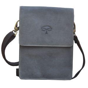 Buy Tamanna Men & Women Black Genuine Leather Sling Bag Online ...