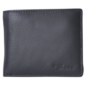 Buy Tamanna Men Black Genuine Leather Wallet (8 Card Slots) online