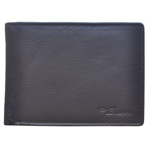 Buy Tamanna Men Dark Brown Genuine Leather Wallet (5 Card Slots) online