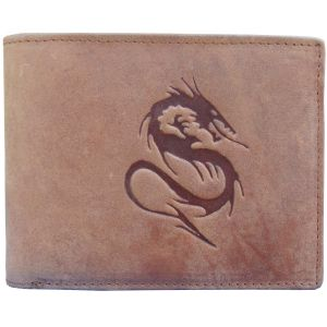 Buy Tamanna Men Tan Genuine Leather Wallet Lwm00078 online