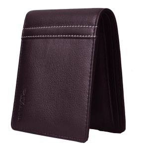 Buy Tamanna Men Brown Genuine Leather Wallet (8 Card Slots) online