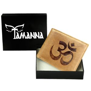 Buy Tamanna Men Tan Genuine Leather Wallet (5 Card Slots) online