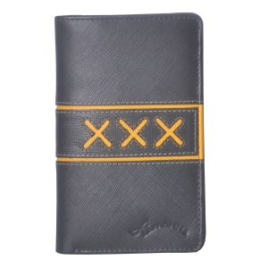 Buy Tamanna Women Grey, Yellow Genuine LeatherWallet online