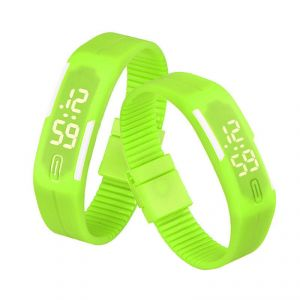 Buy Unisex LED Silicone Smart Band Digital Sports Wrist Watch online