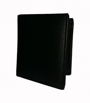 Black Strap Textured Premium Book Style Mens Genuine Leather Wallet By GetSetStyle GSSRE-BLK-7067