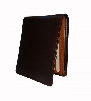Bliss Brown Textured Mens Premium PU Leather Wallet By GetSetStyle GSSREPU-BTN-7082