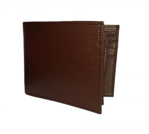 Hickory Brown Flap Style Premium Quality PU Leather Wallet By GetSetStyle PPU-GBR-7031